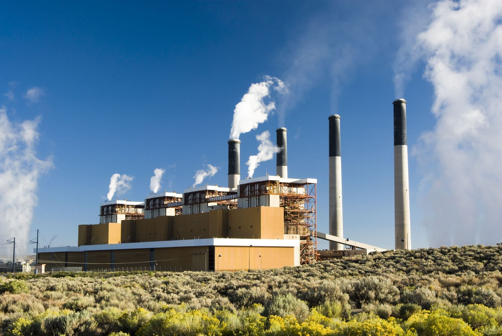 4829496 – a coal fired  electric power plant in wyoming